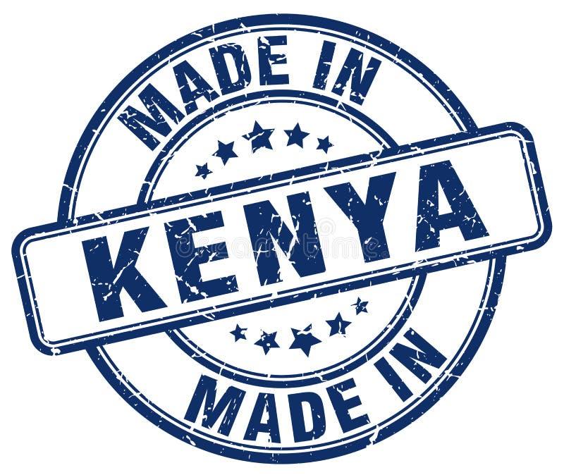 做在肯尼亚邮票 皇族释放例证