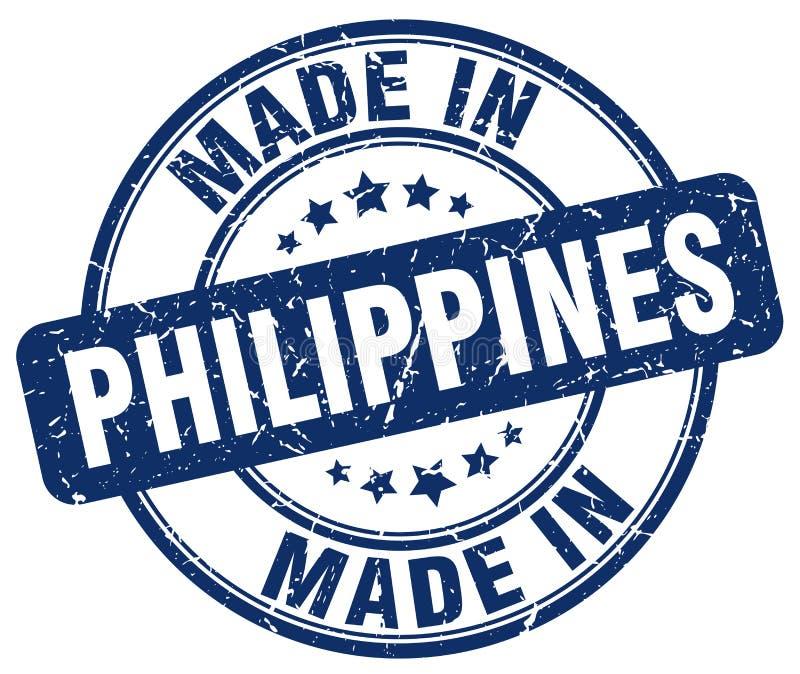 做在菲律宾邮票 皇族释放例证