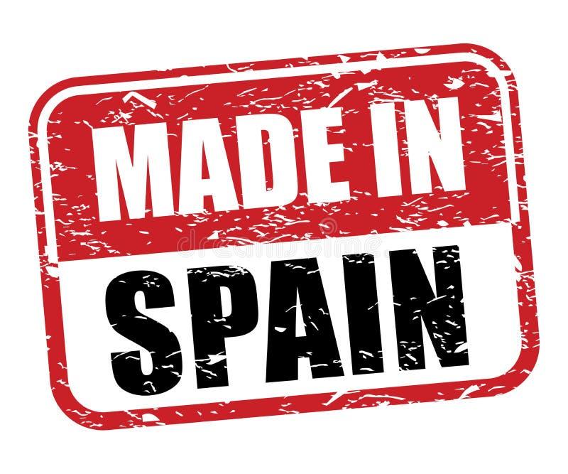 做在西班牙不加考虑表赞同的人 向量例证