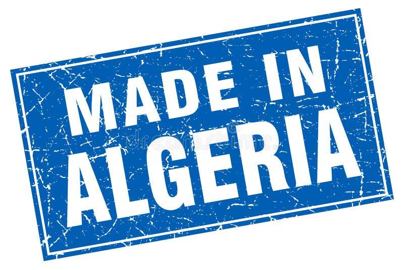 做在阿尔及利亚邮票 皇族释放例证