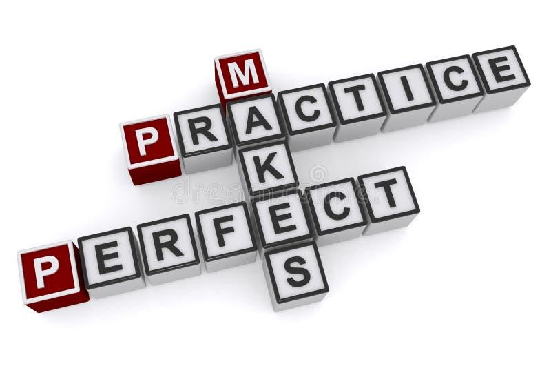 做实践完善 向量例证