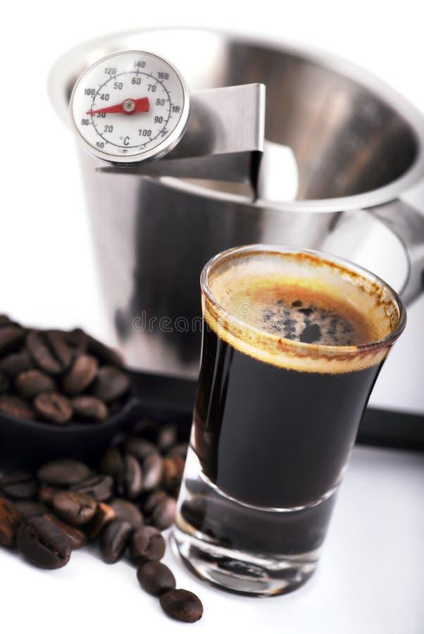 做工具的咖啡 免版税库存照片