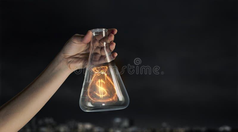 做概念的金钱 免版税库存照片