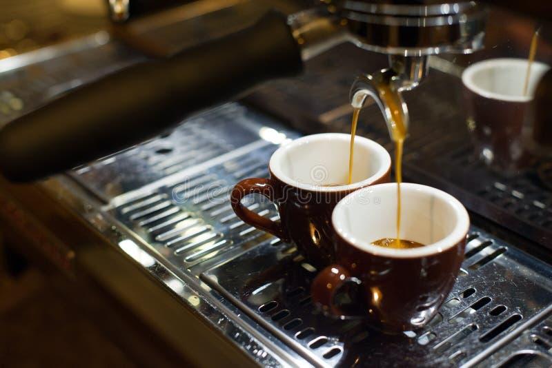 做浓咖啡咖啡 免版税库存图片