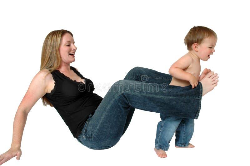 做父母 免版税库存照片