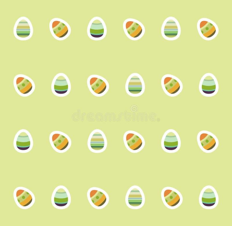 做的复活节彩蛋图象 免版税库存图片