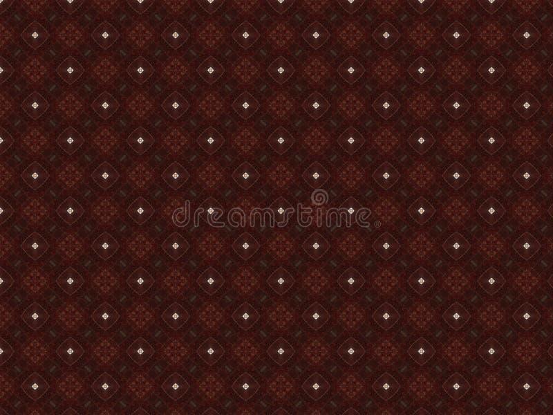 做的帷幕抽象背景织品伯根地红色织品与透雕细工样式和精美鞋带 免版税库存照片