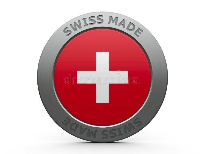 做的瑞士 向量例证