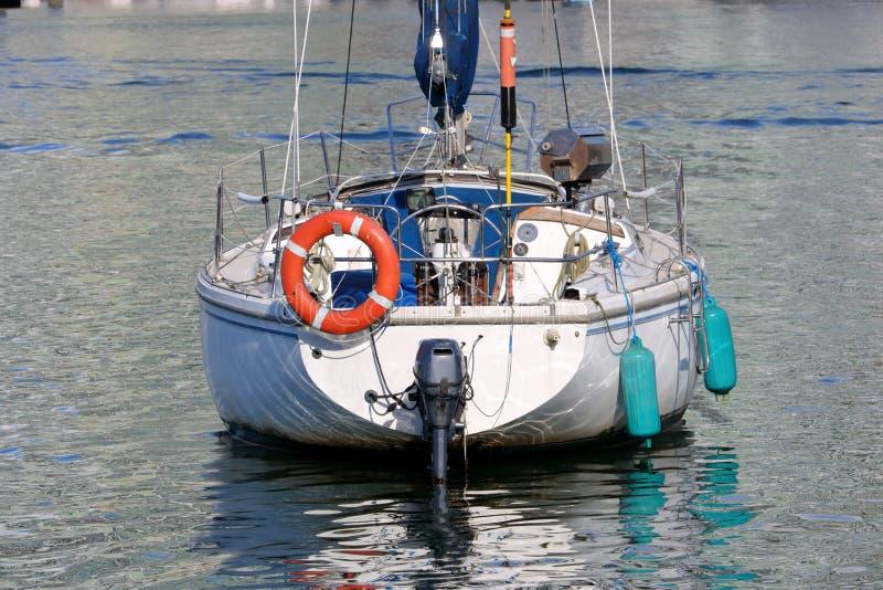 停住的风船 库存照片