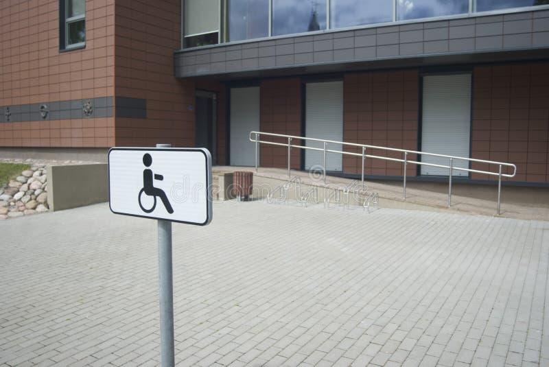停放残疾的 库存图片