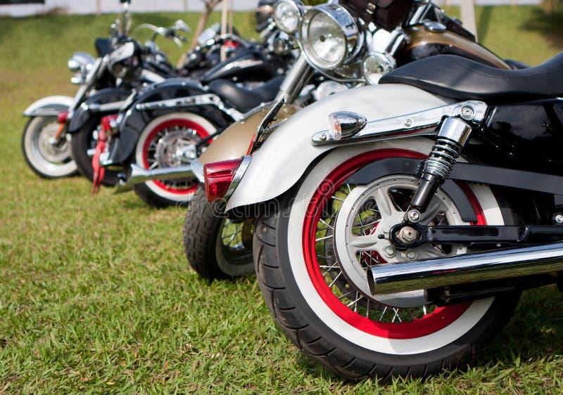 停放的摩托车 图库摄影