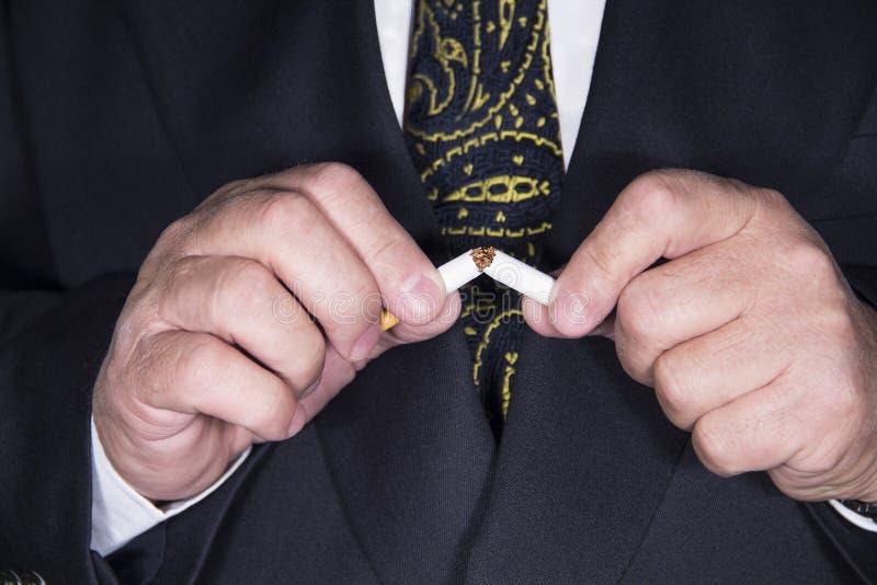 停止抽烟 免版税图库摄影