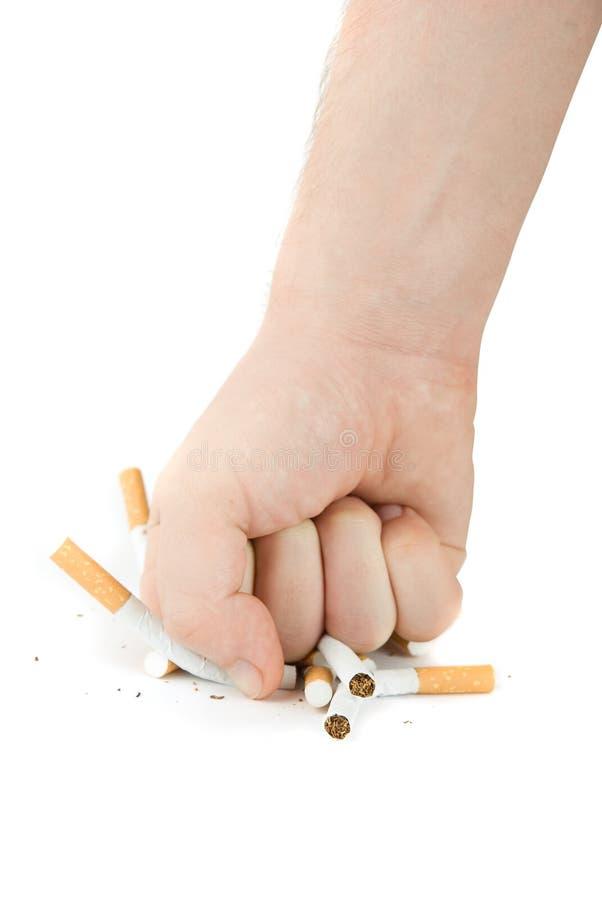 停止抽烟! 免版税库存图片