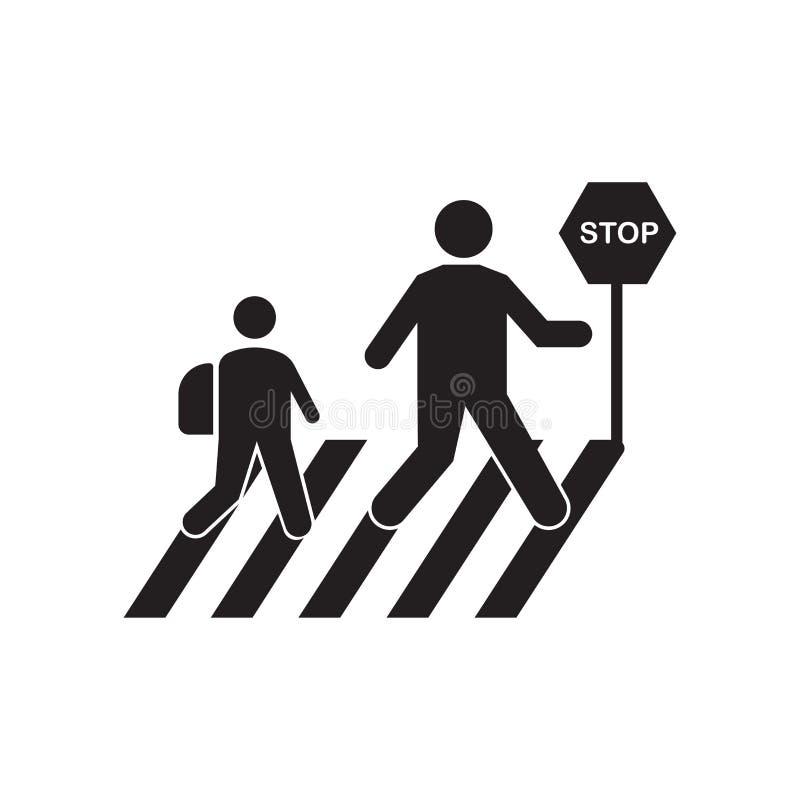 停止象传染媒介标志,并且在白色背景隔绝的标志,停止商标概念 库存例证