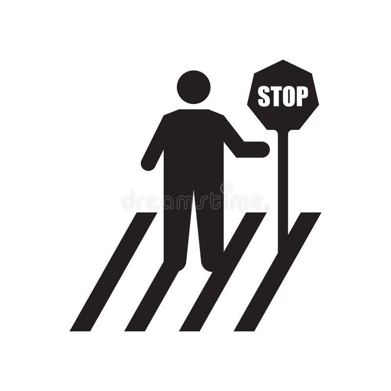 停止象传染媒介标志,并且在白色背景隔绝的标志,停止商标概念 向量例证