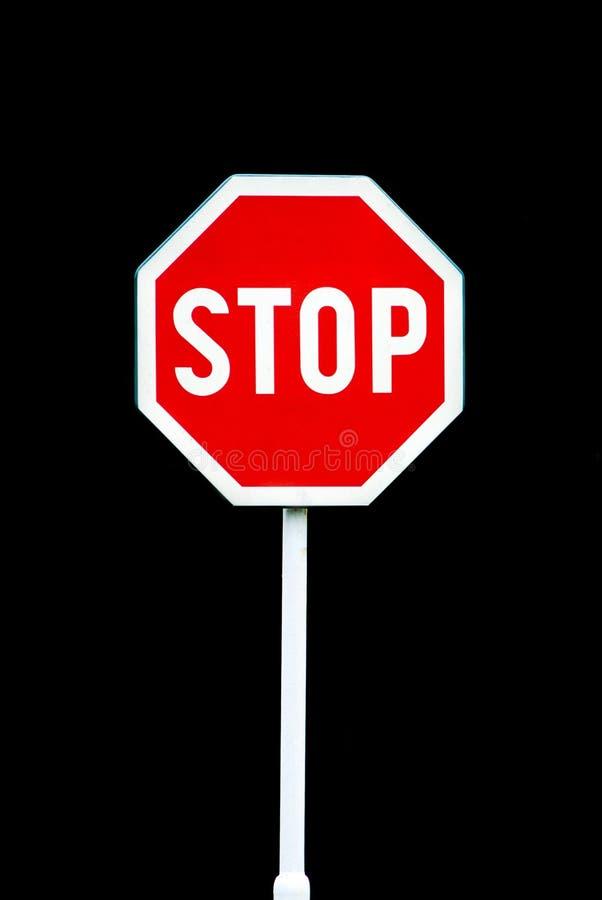 停止,路标 免版税库存照片