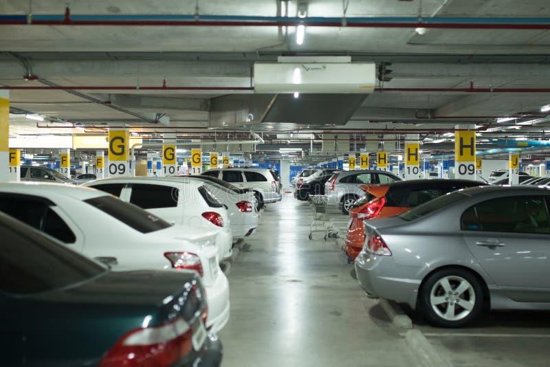 停车场 免版税库存图片