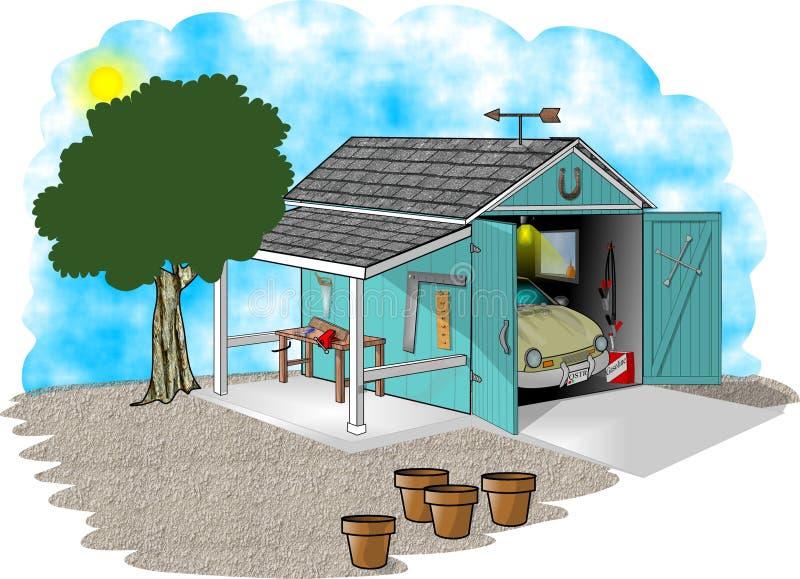 Download 停车库讨论会 库存例证. 插画 包括有 滑稽, 工作, automatics, 天气, 自动, 动画片, 翻板 - 54776