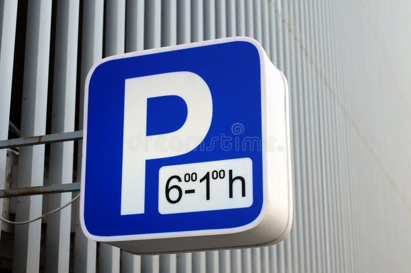 停车符号 库存图片