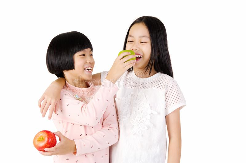 健康亚洲孩子 免版税库存图片