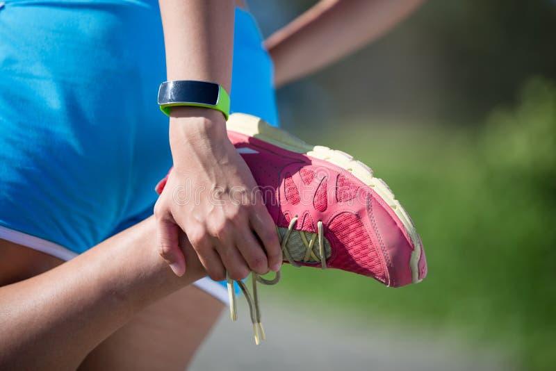 健康体育妇女 免版税库存图片