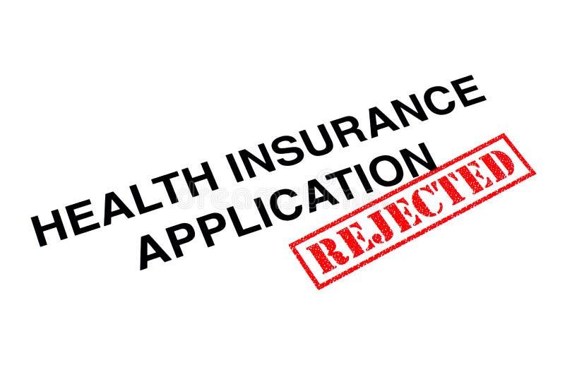 健康保险应用 图库摄影
