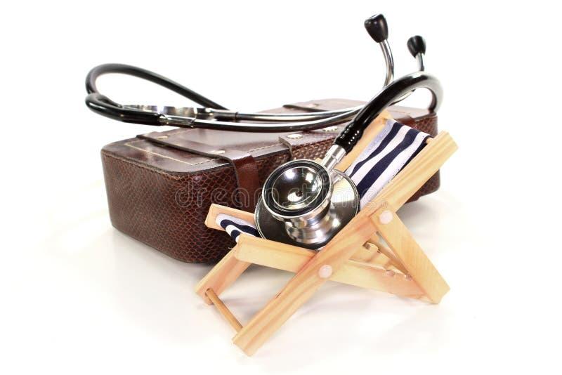 健康保险旅行 库存照片