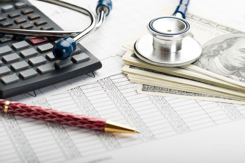 健康保险 库存照片