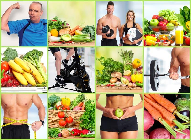 健康健身人集合 库存照片