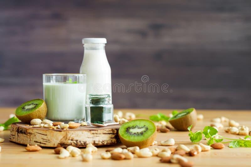 健康健身食物早餐 免版税库存图片