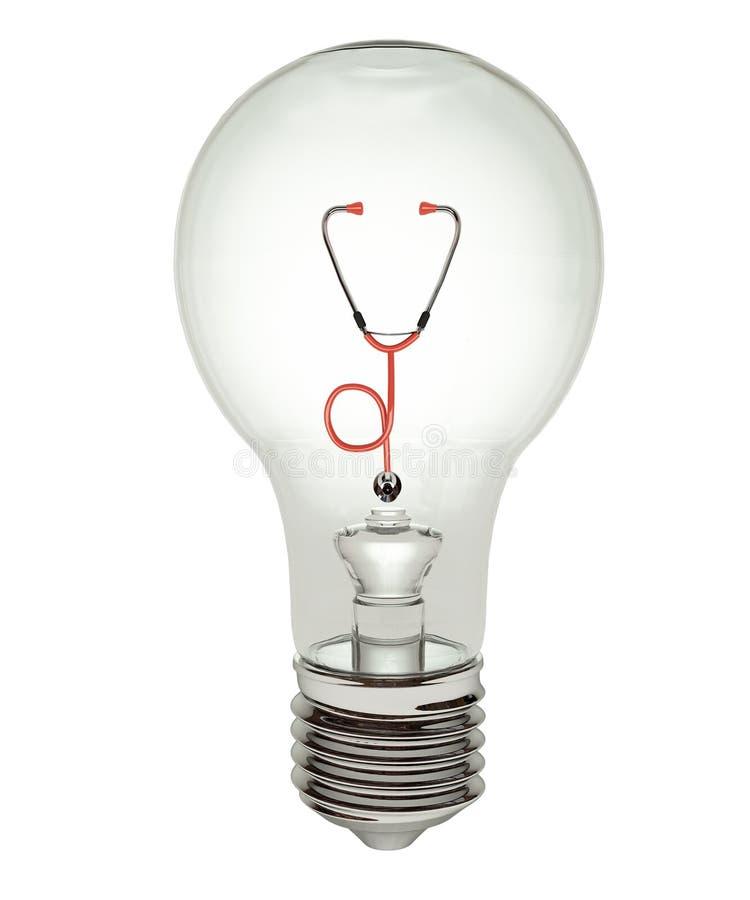 健康创新 库存例证