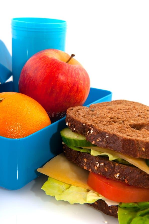 健康午餐 免版税库存图片
