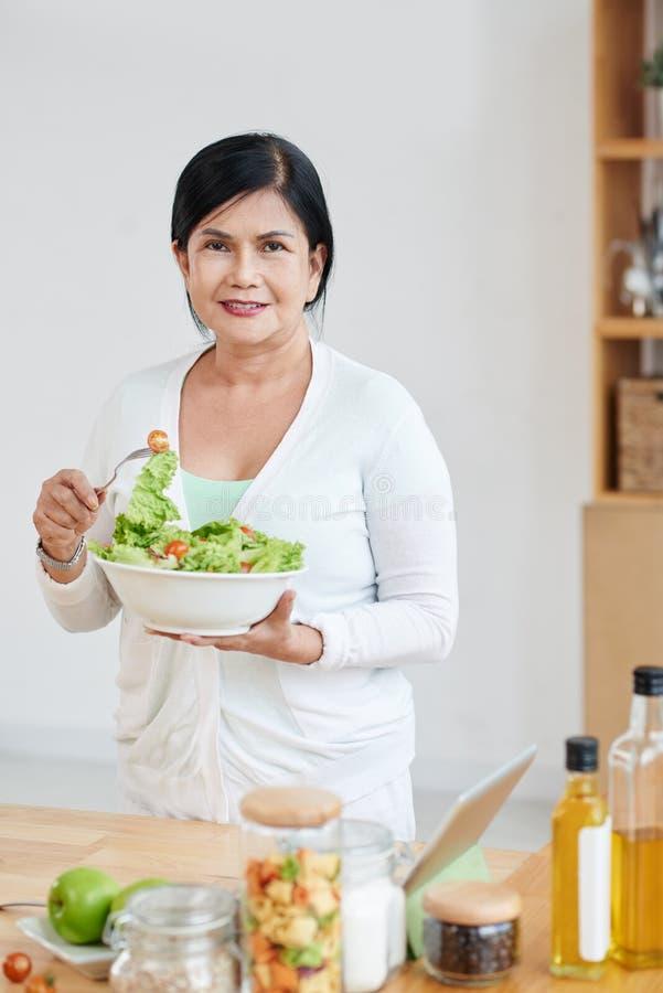 健康午餐 图库摄影