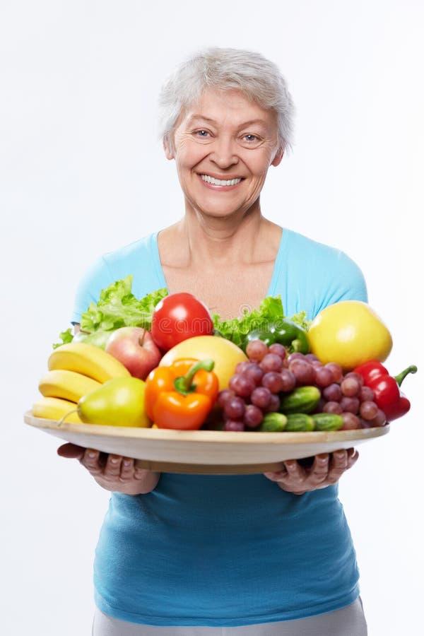 健康吃 库存照片