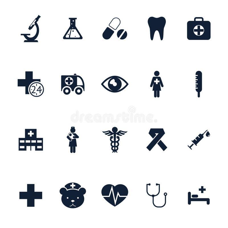 健康和医疗 库存例证