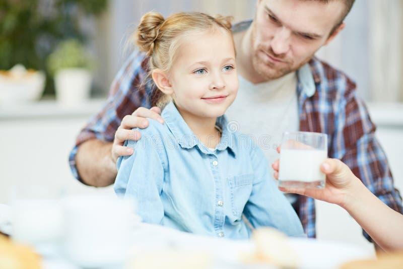 健康女儿 免版税库存照片