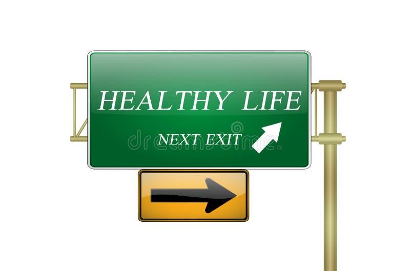健康寿命 向量例证