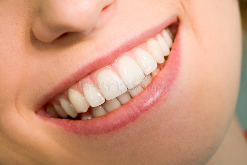 健康微笑 免版税库存照片