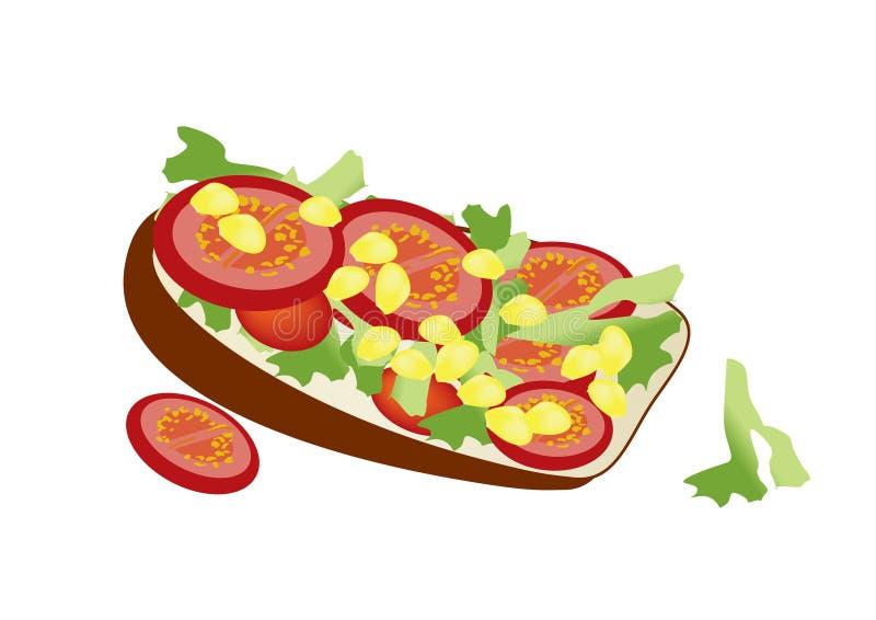 健康快餐 免版税库存照片