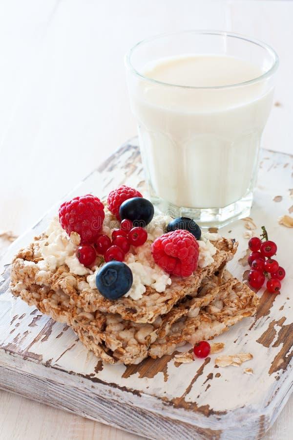 健康早餐的概念 库存图片