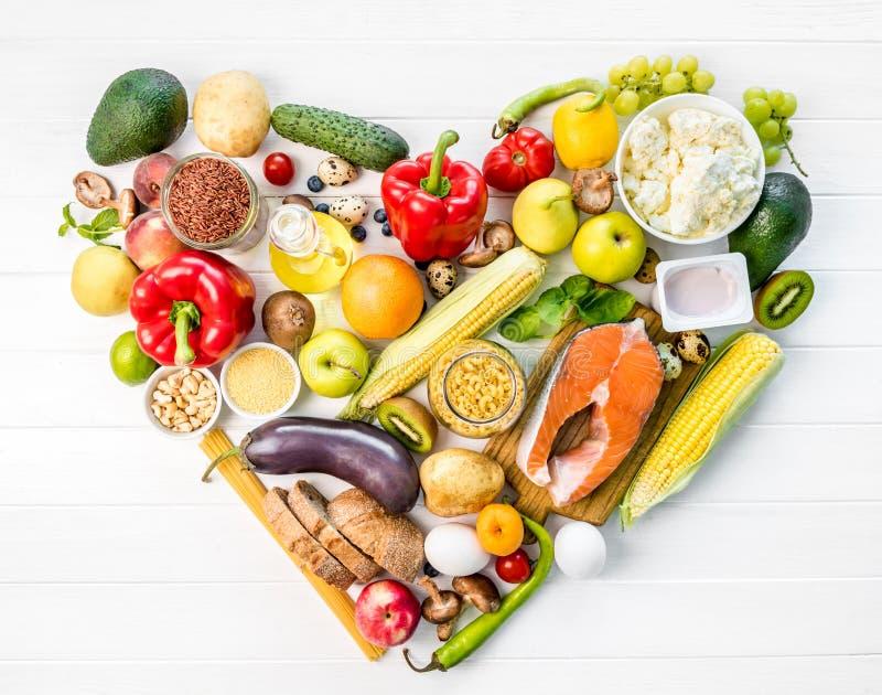 健康有机滋补饮食 免版税图库摄影