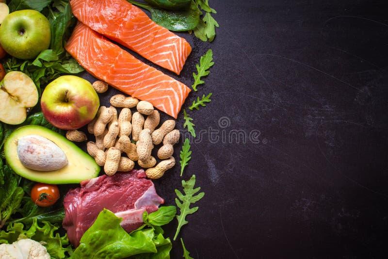 健康概念的食物 图库摄影