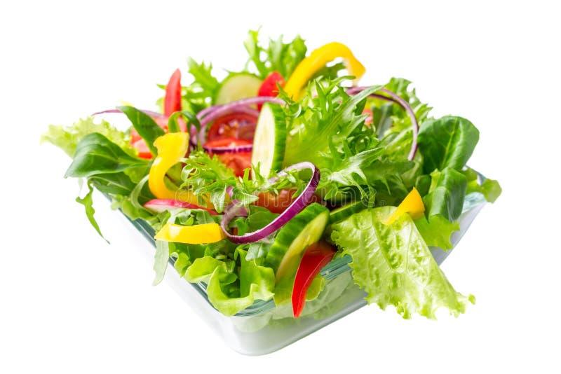 健康沙拉蔬菜 免版税库存照片