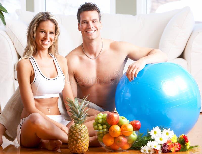 健康生活方式 库存照片