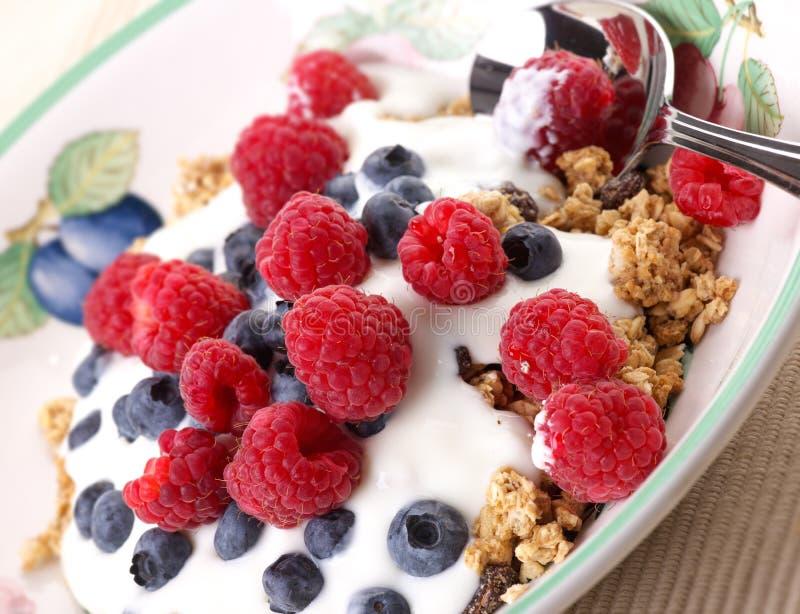 健康的早餐 库存图片