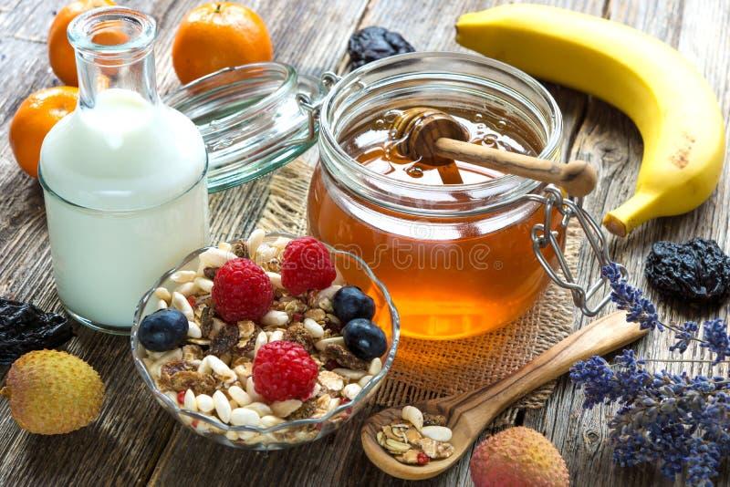 健康的早餐 图库摄影