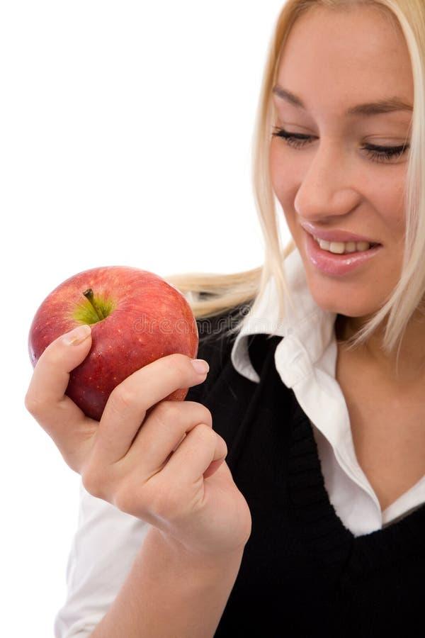 健康的苹果 库存图片