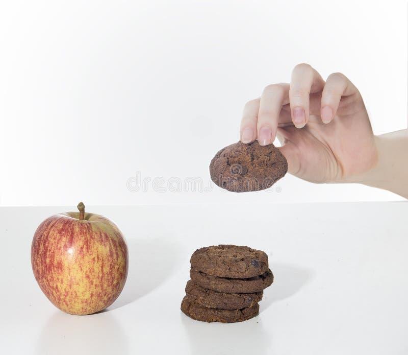 健康的选择 免版税库存图片
