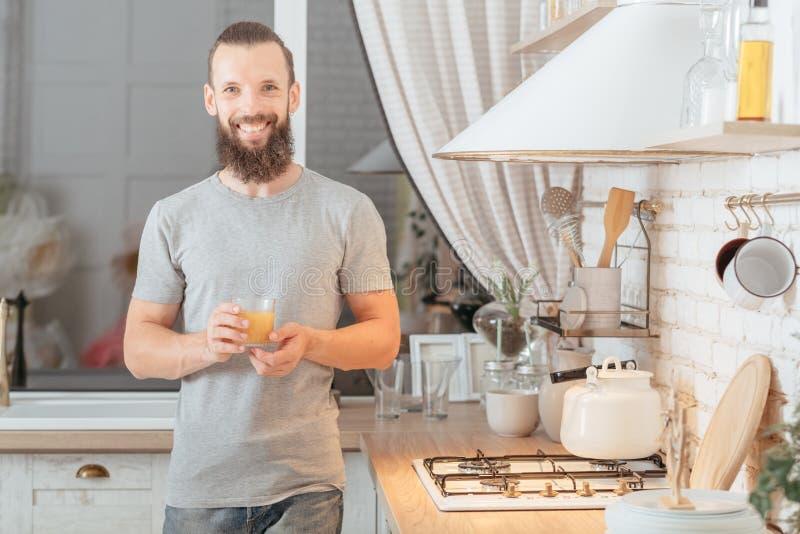 健康素食主义者生活方式平衡的营养汁液 免版税图库摄影
