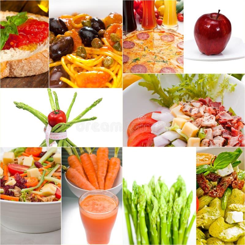 15204744健康素食素食主义者食物拼贴画 图库摄影